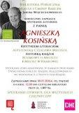 Osiem lat z Czesławem Miłoszem - spotkanie autorskie