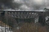 Most kolejki wąskotorowej w Koronowie