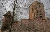 Ruiny zamku w Rogóźnie