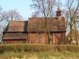 Drewniany kościół w Parlinie