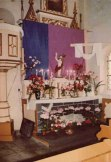 Dekoracja Grobu Pańskiego z lat 80