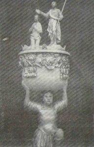 Chrzcielnica z XVIII w.