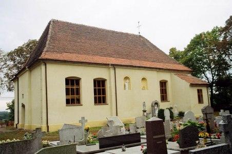 Kościół po remoncie elewacji